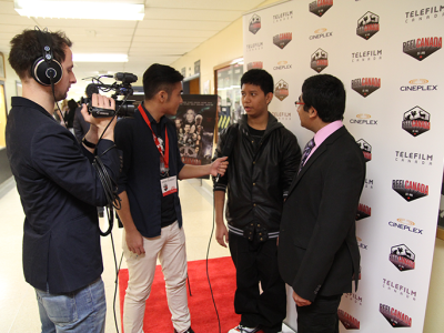 REEL CANADA rolls out the red carpet at West Hill C.I.
